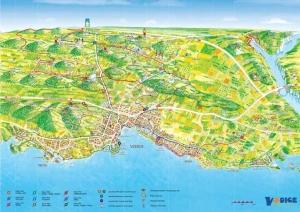 Sport Kerékpár - Térkép